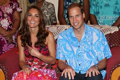 Then of course there were Kate's topless sunbaking pics. But Wills doesn't want us to show you those!