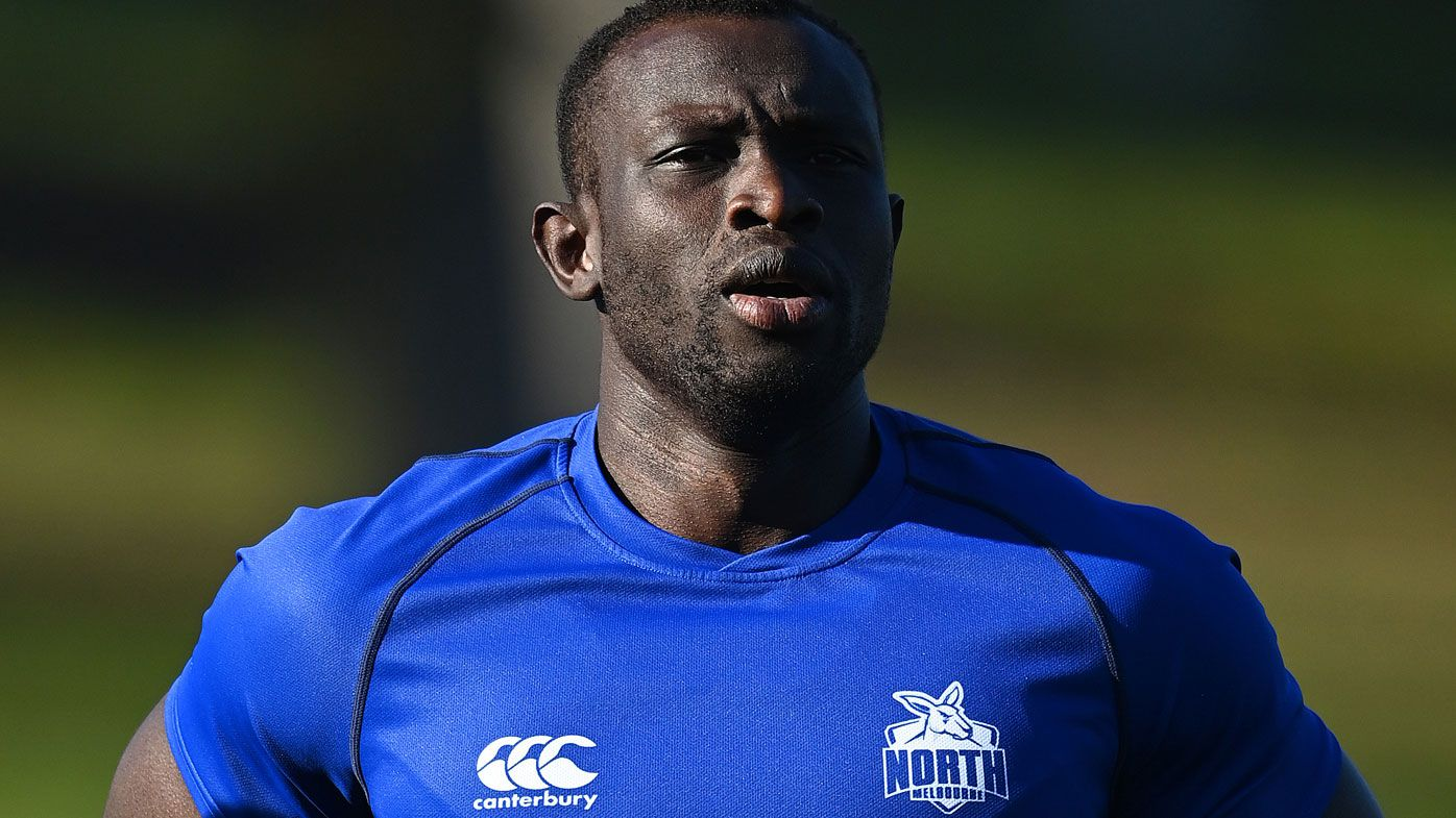 Kangaroos defender Majak Daw avoids surgery for torn pectoral muscle in AFL boost