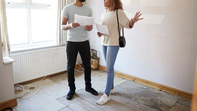 Couple Buying House For First Time that needs renovating
