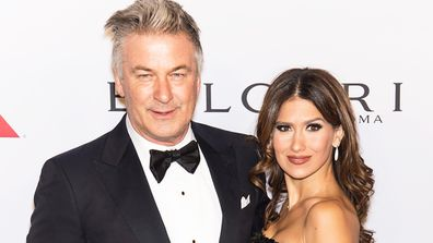Alec Baldwin and wife Hilaria have some happy news. Image: Getty.