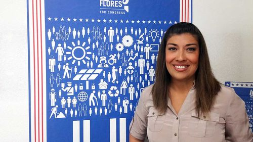 Lucy Flores alleges Joe Biden kissed her slowly on the back of the head.