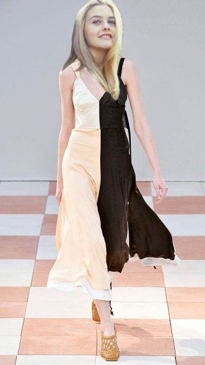 <p>That Calvin Klein slip would be replaced by this Céline AW15 number. Because Phoebe Philo said so.</p>