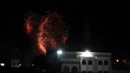Israel strikes Gaza after Hamas fires incendiary balloons