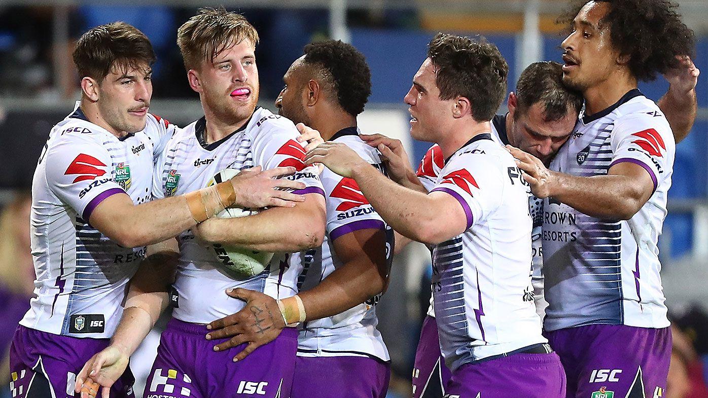 Cameron Munster magic leads Melbourne Storm to comeback win over Gold Coast Titans