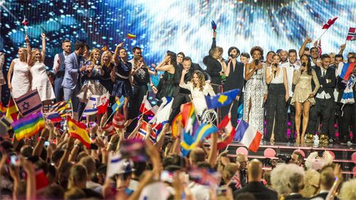 Guy's competition for Eurovision glory (Gallery)