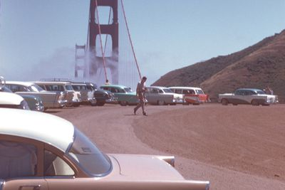 <strong>The Golden Gate Bridge,&nbsp;San Francisco in the 1950s</strong>