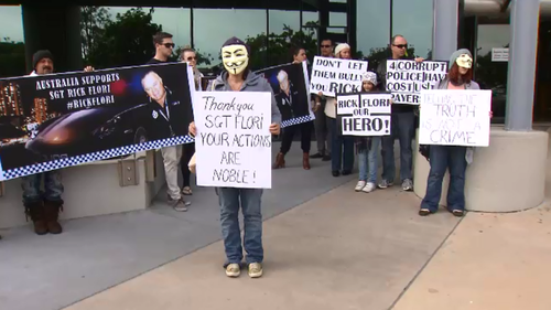 Civil libertarians and protesters have called for Queensland Police and The Crime and Corruption Commission Queensland to explain how they handled the leaks. (9NEWS)