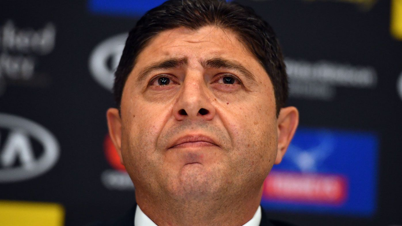 Canterbury chairman Ray Dib out as NRL Bulldogs members vote for change