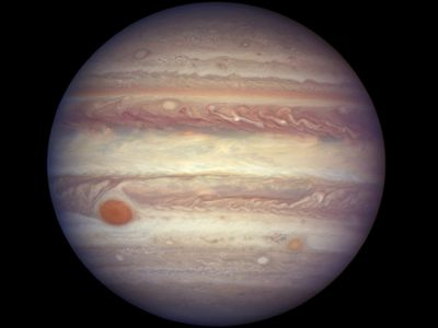 NASA releases detailed photos of Jupiter's famous Great Red Spot