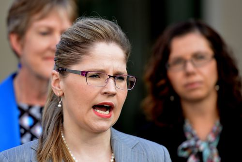 Australian Nursing and Midwifery Federation chief exeuctive Elizabeth Debars says the overcrowding is putting lives at risk. (AAP)