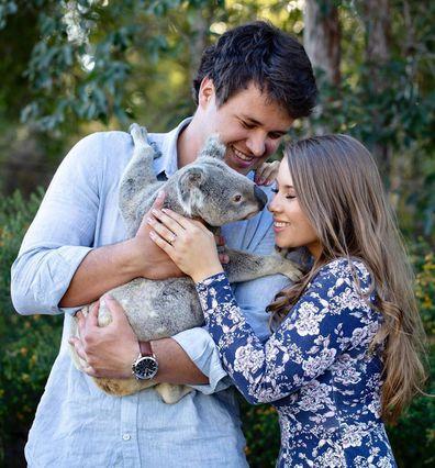 Bindi Irwin teases photo of her wedding dress ahead of marriage to Chandler Powell