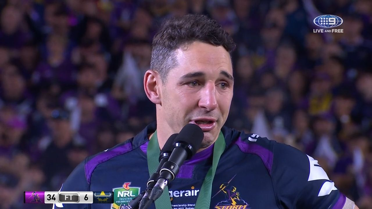 Slater wins Clive Churchill Medal