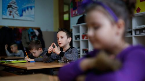 Zejd's confidence has grown through the process. (AP Photo/Amel Emric)