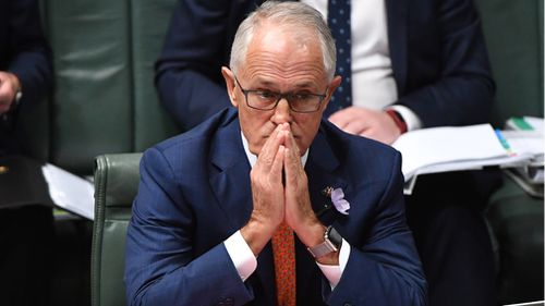 Mr Turnbull was peppered with questions today during Question Time about Mr Joyce and his affair with former advisor, Vikki Campion (AAP).