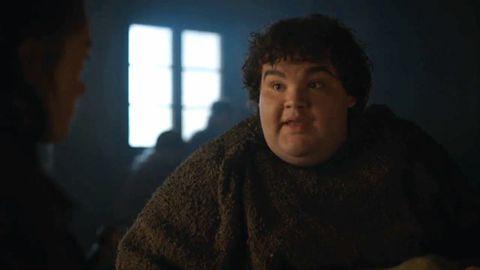 Hot Pie tells Arya Stark the Bolton's are dead