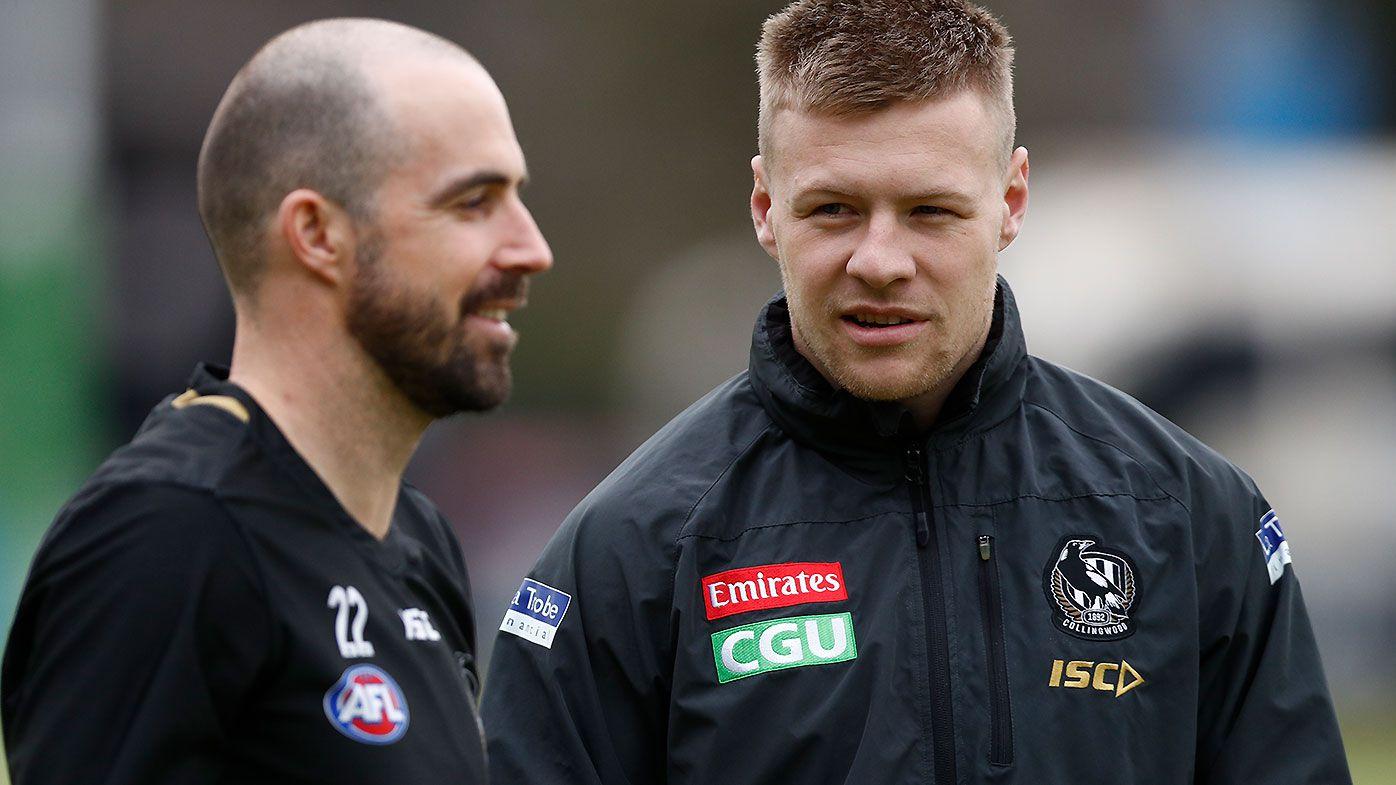 Collingwood forced into denial of Jordan de Goey's potential injury setback