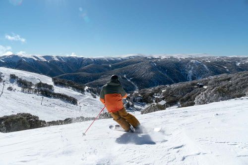 An avalanche warning is in place for the Victoria Alps. Picture: Falls Creek