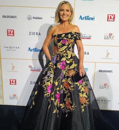 <em>The Today Show</em>'s Georgie Gardner at the 2018 Logie Awards