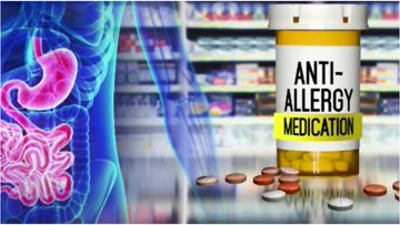 A link has been found between a common heartburn medication and increased risk of common allergies.