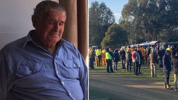 Bruce Evans was last seen on Tuesday night at his home in Neilborough, north of Bendigo.
