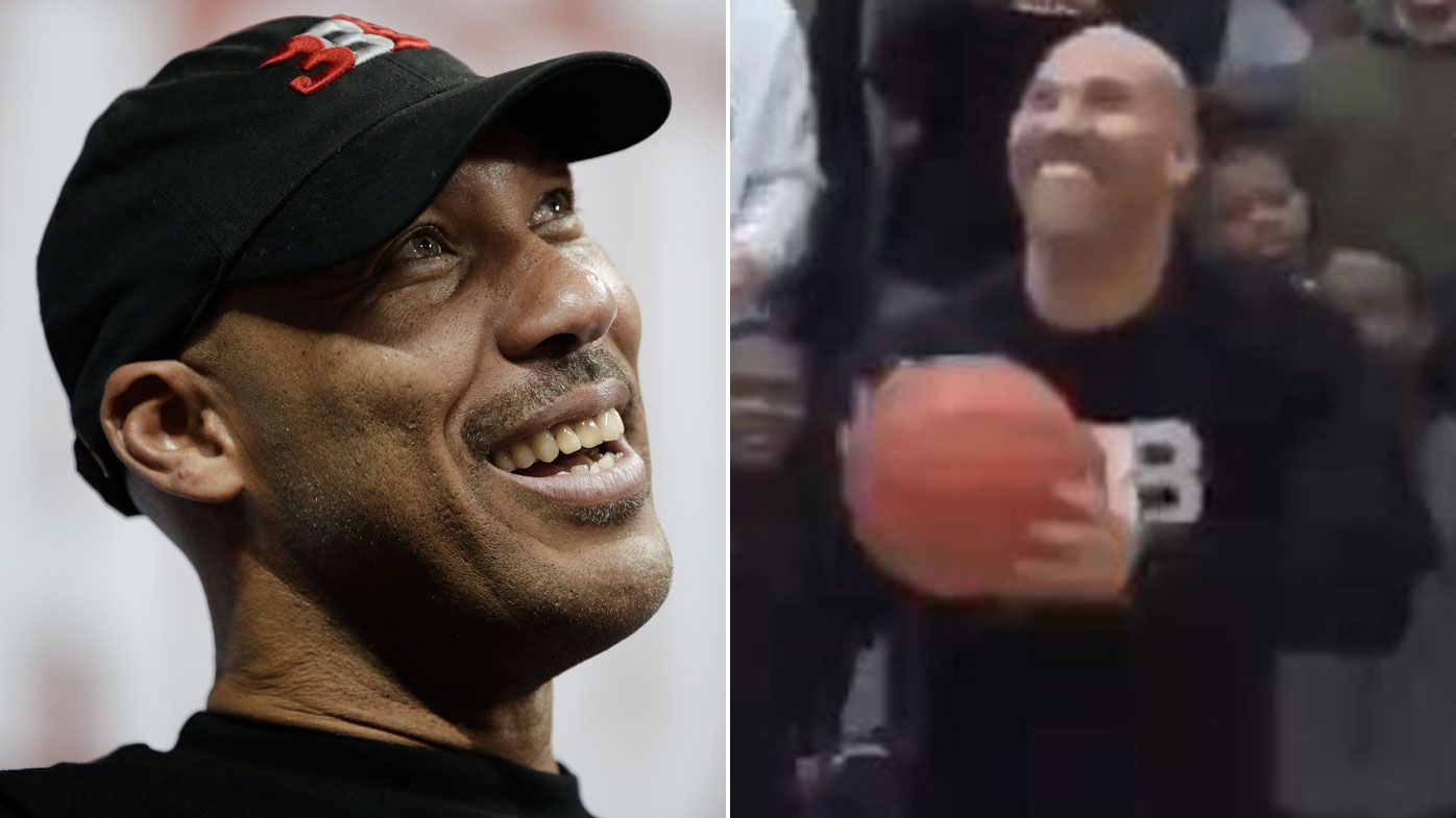 LaVar bricks or airballs seven shots in a row despite Michael Jordan claim