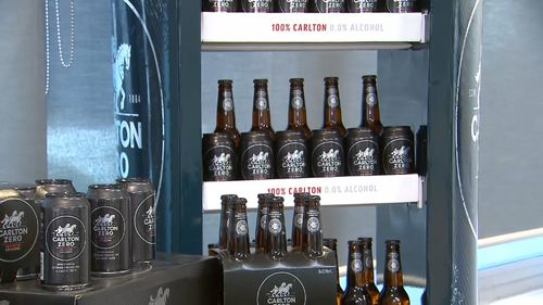 Carlton and United Breweries have introduced a non-alcohol beer.