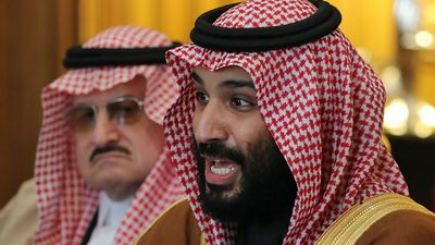 Saudi Crown Prince in US visit