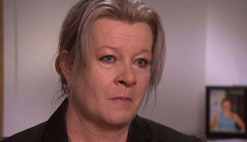 Siobhan Brown, Ashlee's mother, broke down talking about her daughter's husband. Picture: A Current Affair