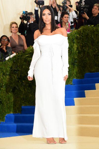 Kim Kardashian West in Vivienne Westwood&nbsp;at the 2017 Met Gala,&nbsp;<em>Rei Kawakubo/Comme des Garcons: Art Of The In-Between</em>