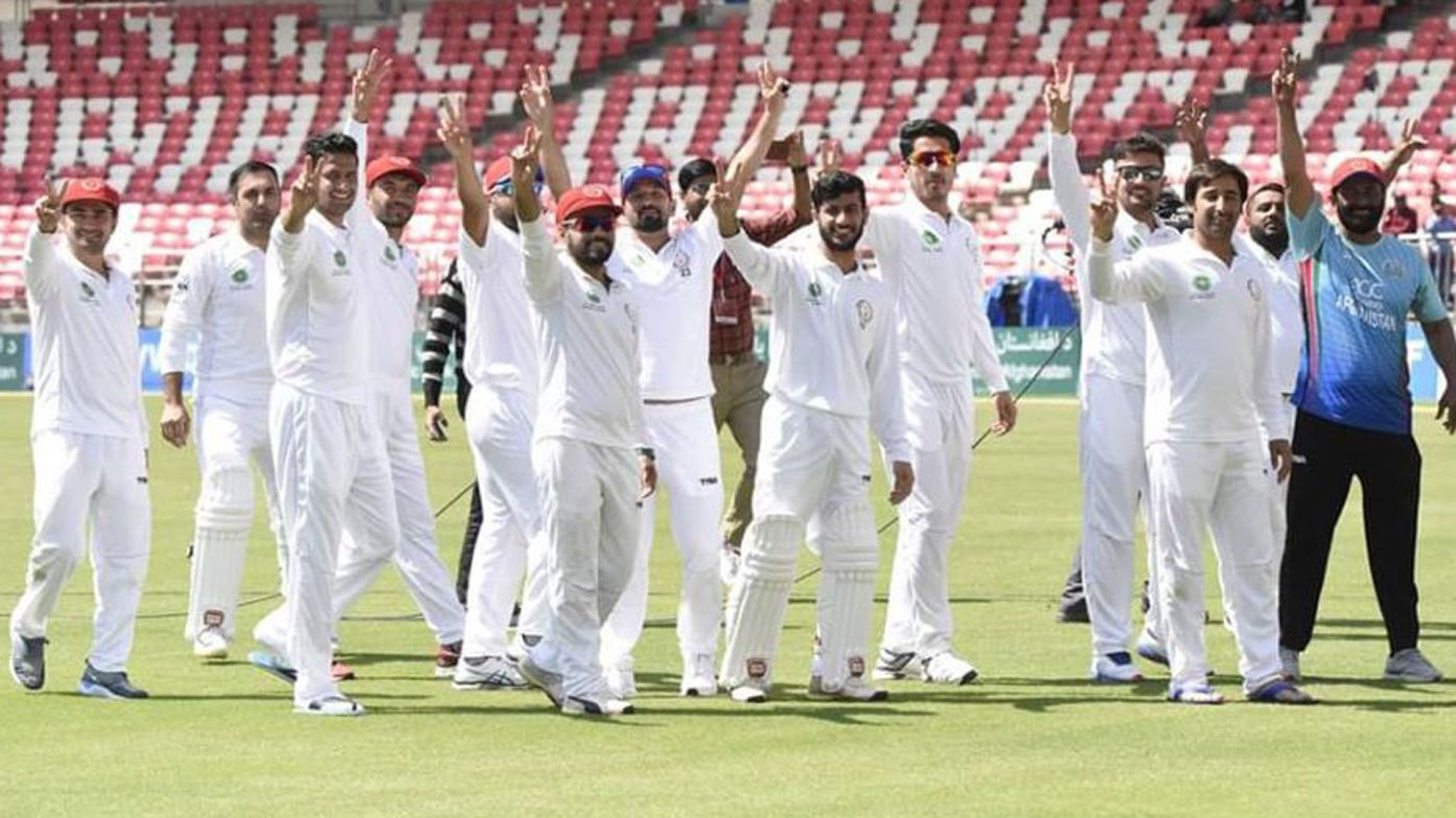 Afghanistan scores first-ever Test cricket win, beating Ireland