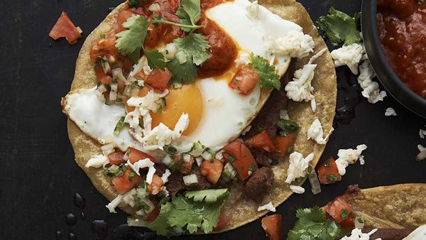 Neil Perry's huevos rancheros