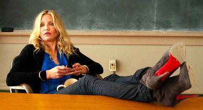 Cameron Diaz in Bad Teacher the movie