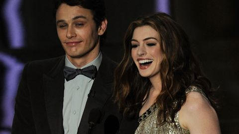 James Franco and Anne Hathaway host the 2011 Oscars
