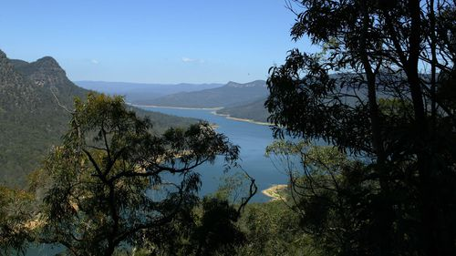 What is now Lake Burragorang used to be a valley which was flooded when the dam was built.
