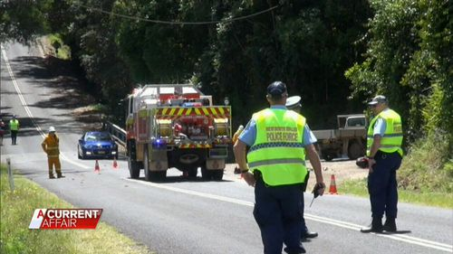 The accident took place in northern New South Wales. (A Current Affair)