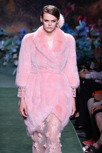 """<p>""""The discussion of fur is childish.""""</p> <p><strong>Karl Lagerfeld</strong> on fur.</p>"""
