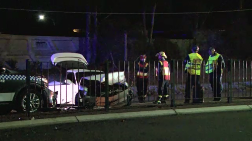 A man has been charged over a police pursuit that ended in a three-car crash. (9NEWS)