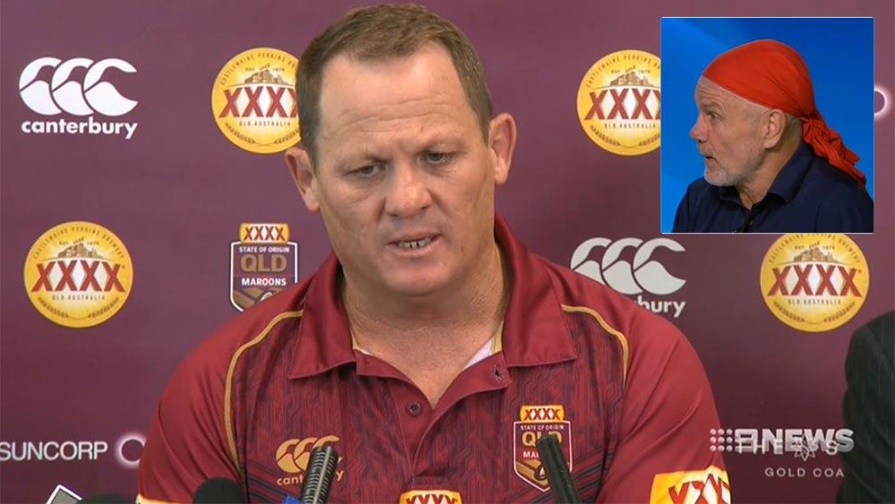 State of Origin 2017: Peter Fitzsimons says Queensland coach Kevin Walters emotion was over the top