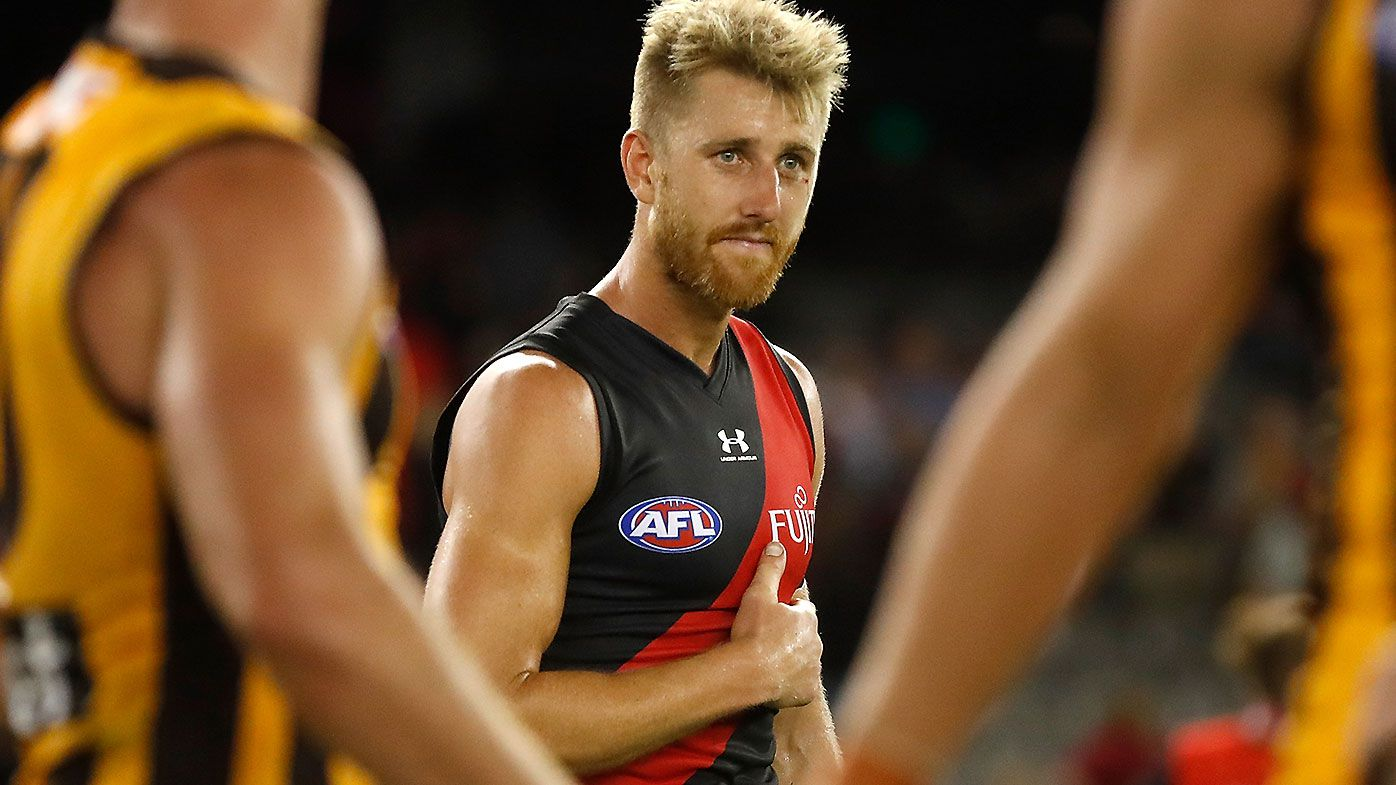 Dyson Heppell named in Essendon team despite last-minute scans on back issue