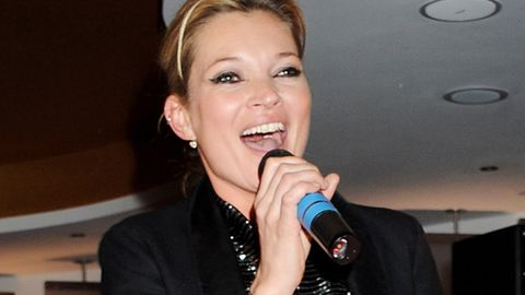 Kate Moss's song about 'thigh-high boots' and 'driving a posh car' will change your life