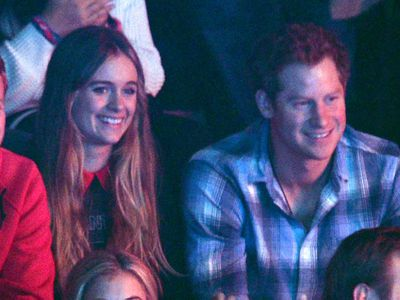 Prince Harry begins dating Cressida Bonas, 2012