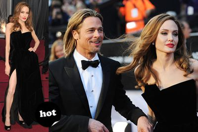 "Bow down, citizens of Hollywood. Your King and Queen have arrived!<br/><br/>Spoiler alert! <a href=""http://yourmovies.com.au/article/oscars2012/8425037/oscars-2012-moviefixs-live-results-blog"">Head over to MovieFIX to find out who won...</a>"
