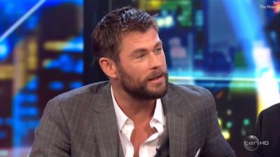 Chris Hemsworth freaks out as The Project host drops massive Thor: Ragnarok spoiler on air
