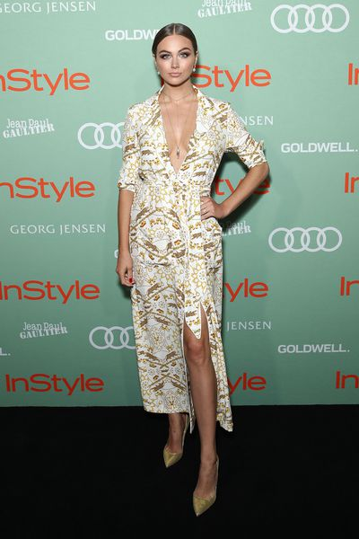 <em>E!</em> Australia host Ksenija Lukich in Luna Atelier at the 2018&nbsp;<em>InStyle and Audi Women of Style&nbsp;</em>awards