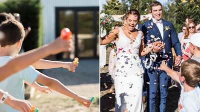 Teacher says 'I do' in the cutest possible way