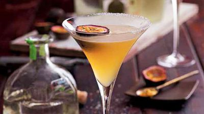 "Recipe: <a href=""http://kitchen.nine.com.au/2016/05/05/15/35/passionfruit-margarita"" target=""_top"">Passionfruit Margarita</a>"