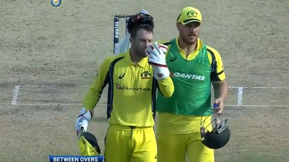 Australia wicketkeeper Matthew Wade suffers heat stress in stifling Kolkata conditions