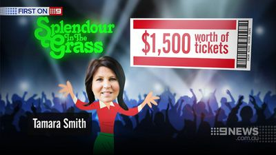 Ms Smith was comped four guest passes to Splendour in the Grass festival, valued at $1460.