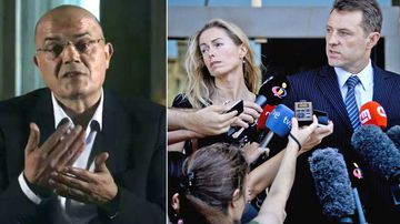 Goncalo Amaral (left), and Madeleine McCann's parents, Kate and Gerry (right)