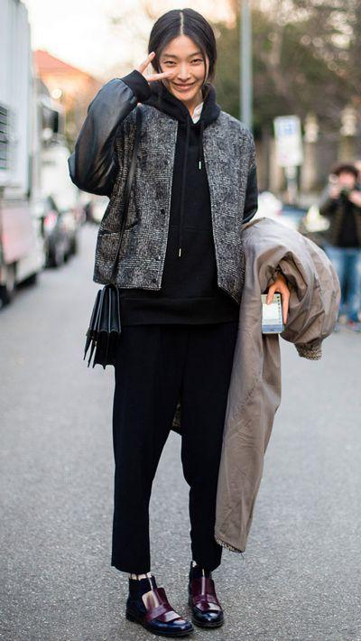 <p>Model Sunghee Kim.</p>